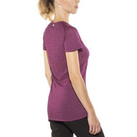 Devold Running T-Shirt Women Plum
